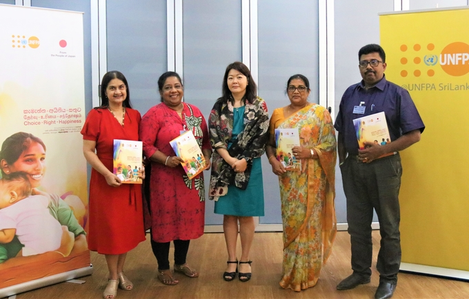 Improved Access to Services on Gender-Based Violence and Sexual and Reproductive Health for Women and Young people in Sri Lanka